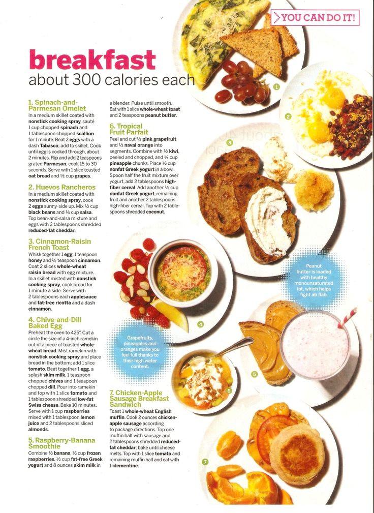 Healthy Low Calorie Breakfast  Low calorie breakfasts I ♥ healthy eating