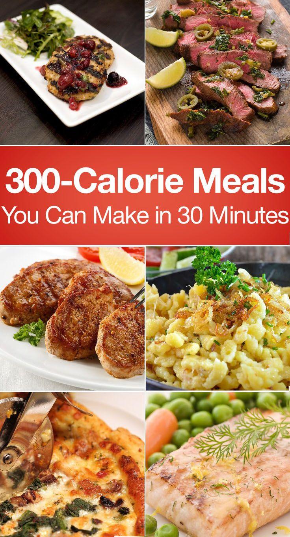 Healthy Low Calorie Dinners  17 Best ideas about 300 Calorie Meals on Pinterest