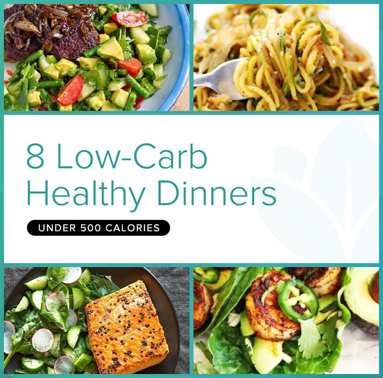 Healthy Low Calorie Dinners  8 Low Carb Healthy Dinner Recipes Under 500 Calories