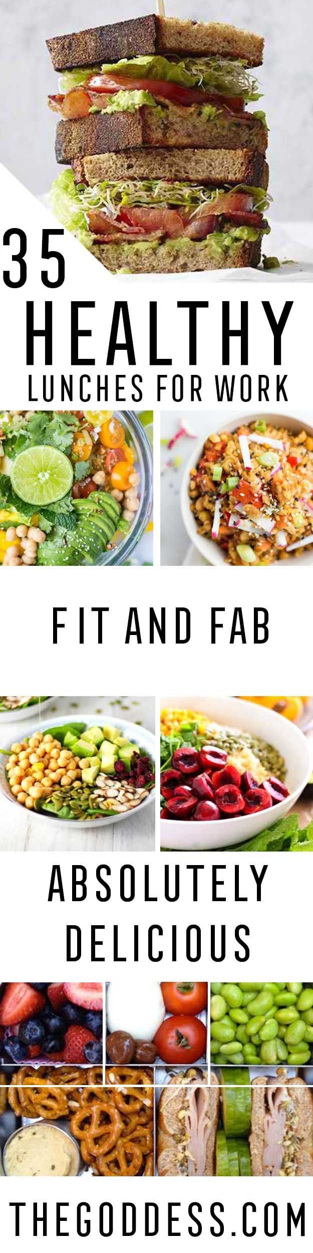 Healthy Low Calorie Lunches To Take To Work  35 Healthy Lunches For Work