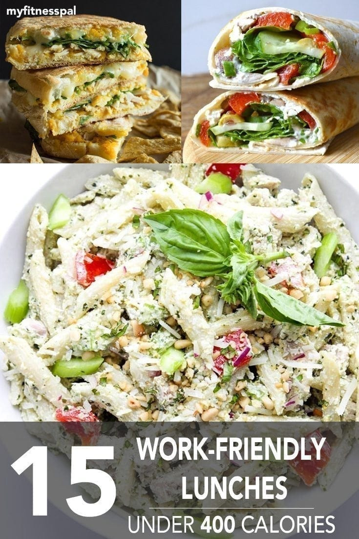 Healthy Low Calorie Lunches To Take To Work  15 Work Friendly Lunches Under 400 Calories