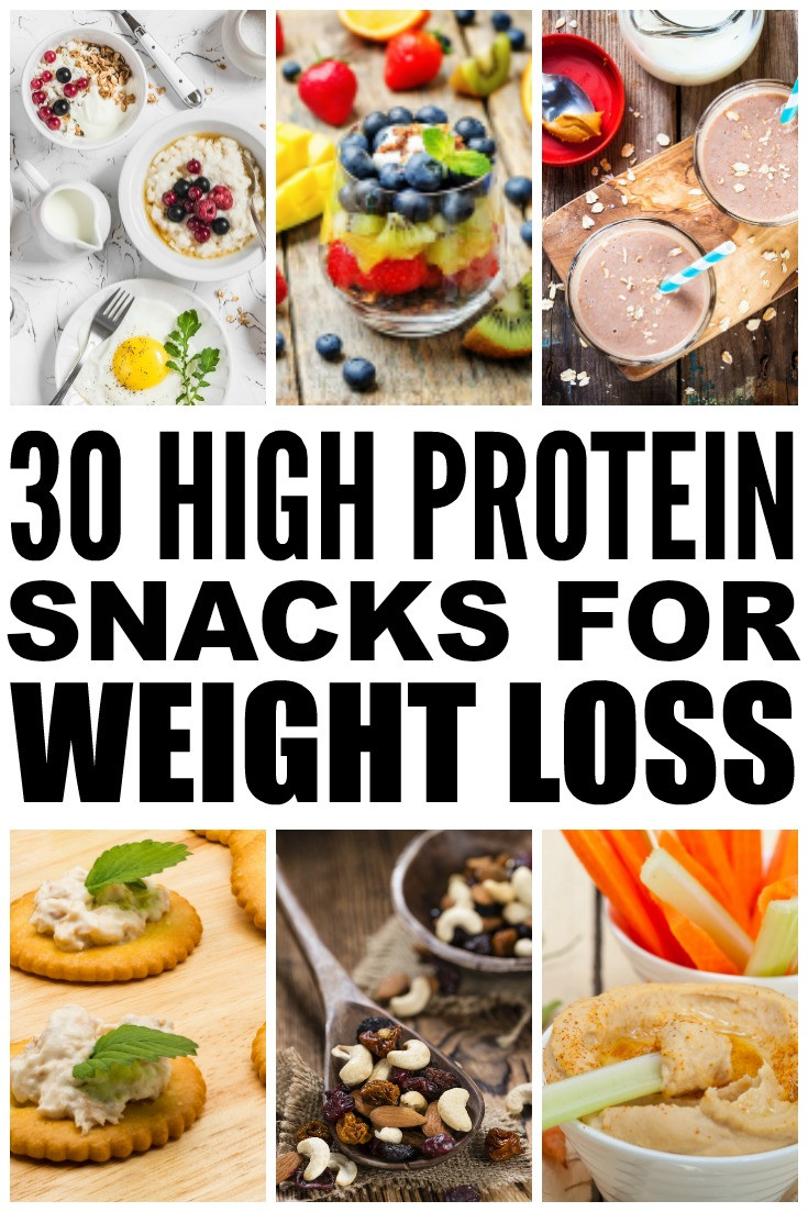 Healthy Low Calorie Snacks For Weight Loss  30 High Protein Snacks for Weight Loss