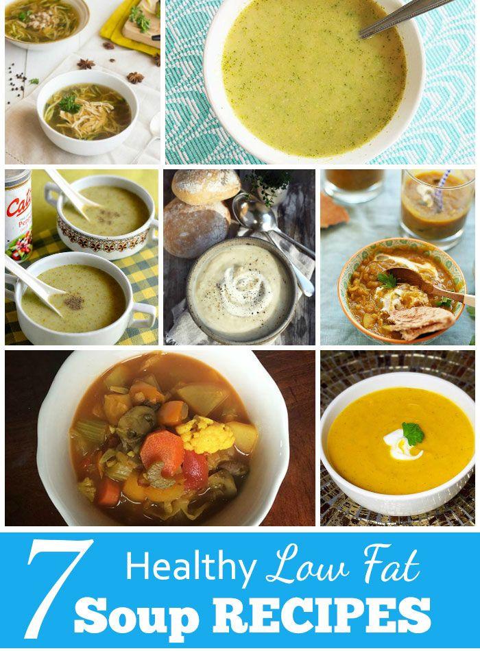 Healthy Low Calorie Soups  7 Healthy Low Fat Soup Recipes