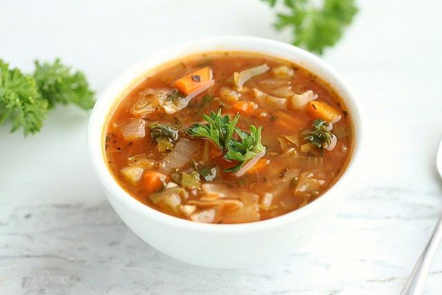 Healthy Low Calorie Soups  Low Calorie Cabbage Soup
