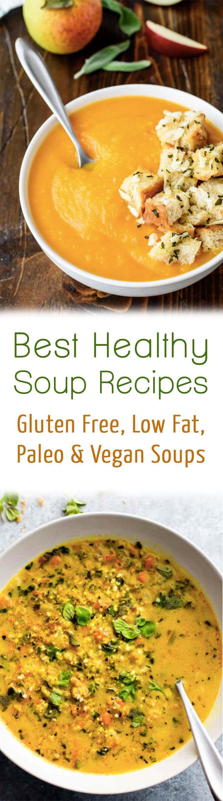 Healthy Low Calorie Soups  10 Best Healthy Soup Recipes