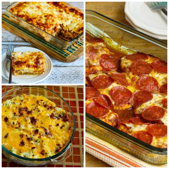 Healthy Low Carb Casseroles  Kalyn s Kitchen 20 Deliciously Healthy Low Carb