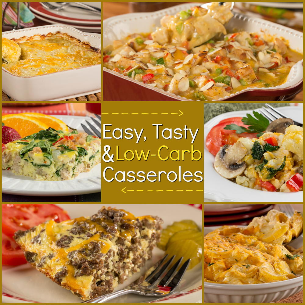 Healthy Low Carb Casseroles  Low Carb Casseroles 10 Easy and Tasty Recipes