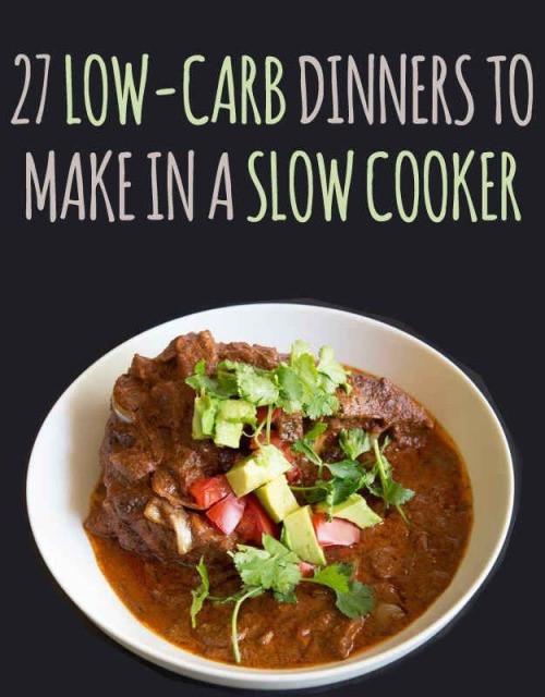 Healthy Low Carb Crock Pot Recipes  healthy crockpot recipes
