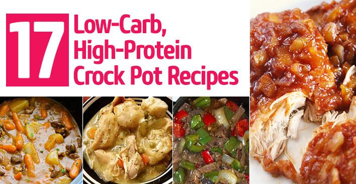 Healthy Low Carb Crock Pot Recipes  17 Low Carb High Protein Crock Pot Recipes