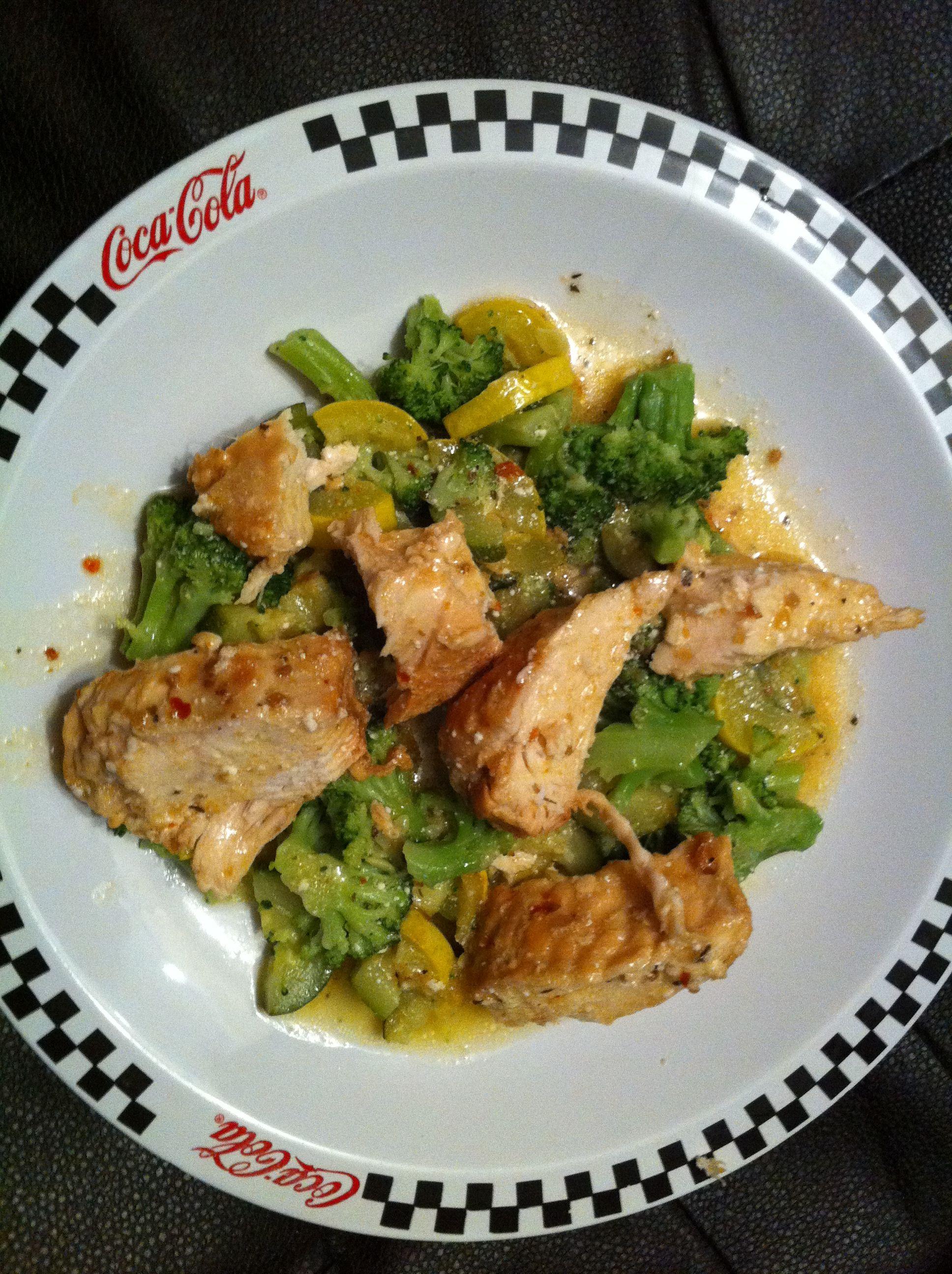 Healthy Low Carb Crock Pot Recipes  Low carb creamy italian chicken in crock pot