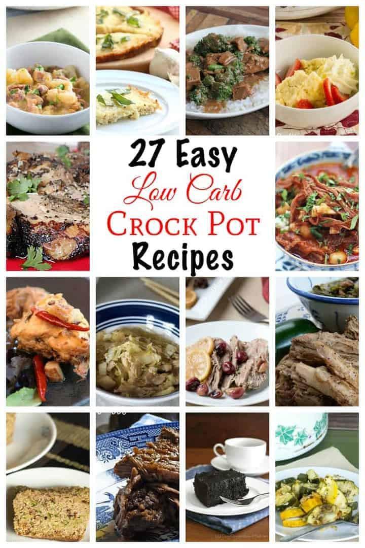 Healthy Low Carb Crock Pot Recipes  Low Carb Crock Pot Recipes