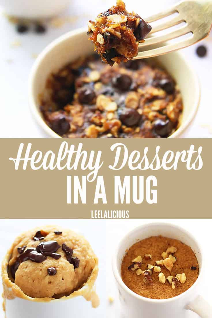 Healthy Low Carb Desserts  15 Healthy Desserts in a Mug • LeelaLicious