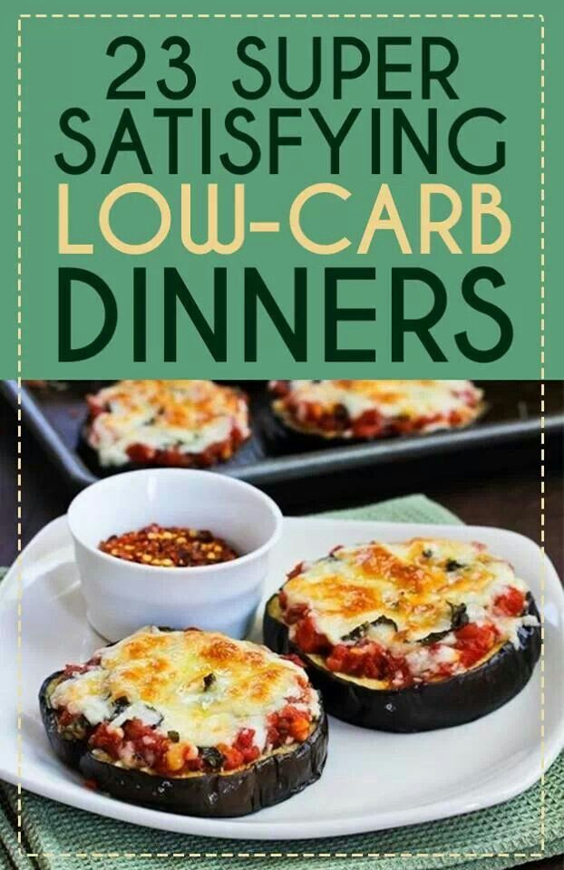Healthy Low Carb Dinner Recipes  Low Carb Dinner Ideas Low Carb