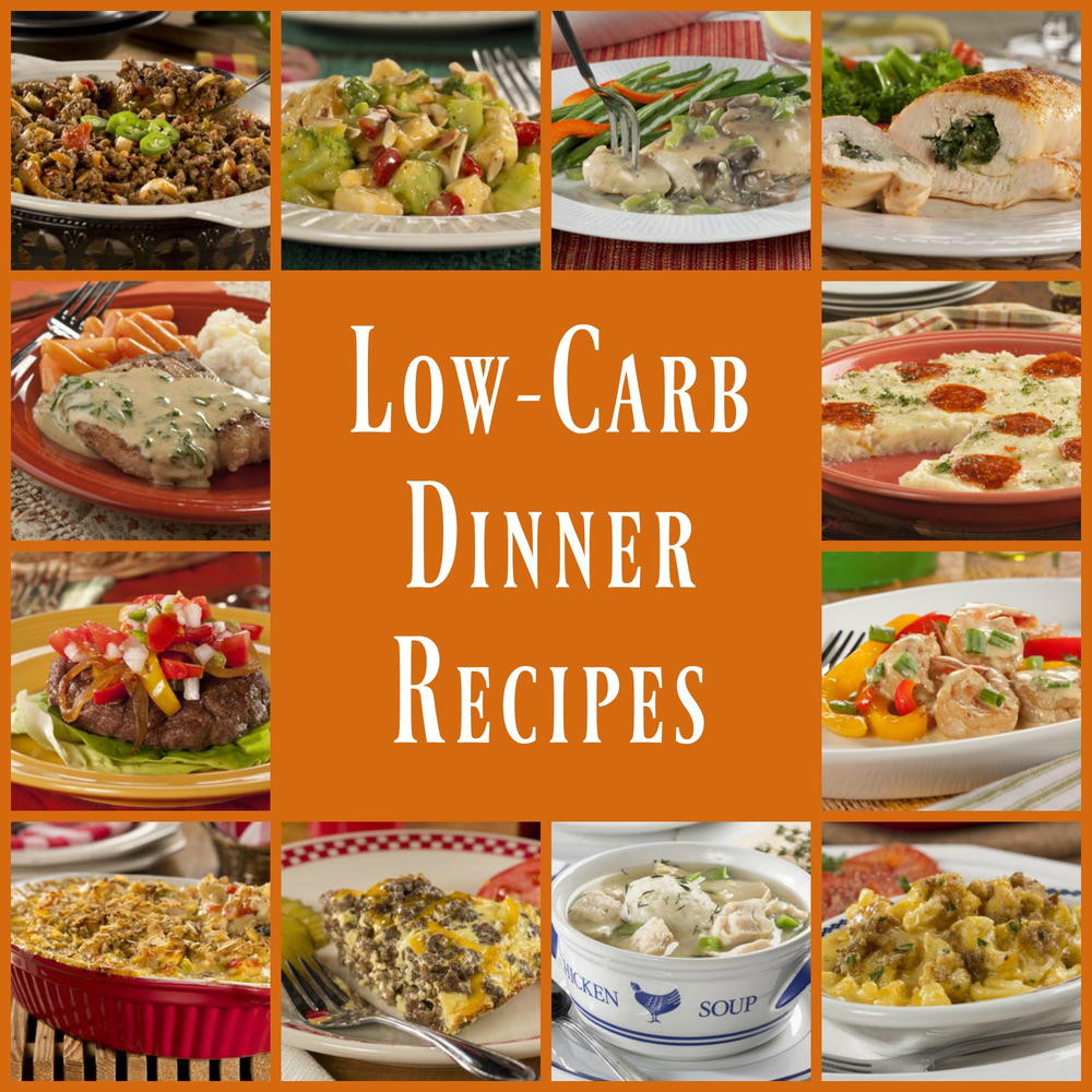 Healthy Low Carb Dinner Recipes  Low Carb Dinners 45 Healthy Dinner Recipes