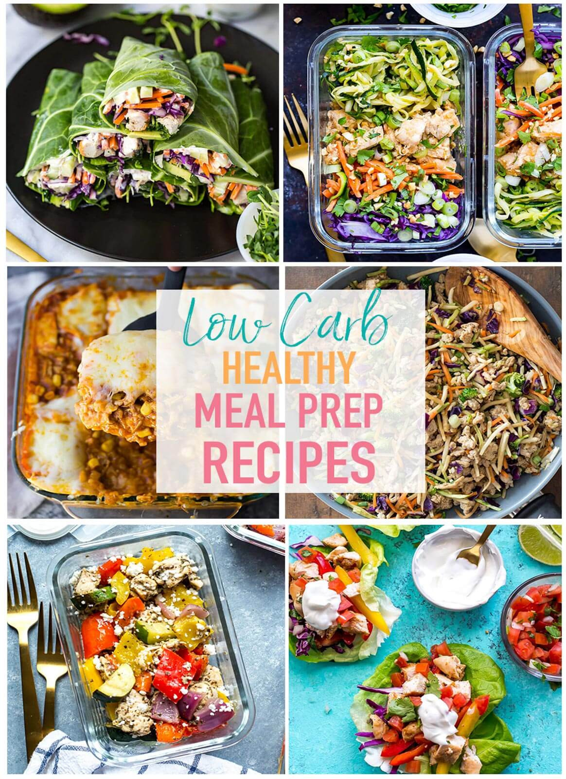 Healthy Low Carb Dinners  17 Easy Low Carb Recipes for Meal Prep The Girl on Bloor