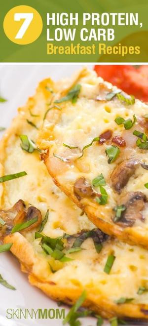 Healthy Low Carb High Protein Recipes  7 High Protein Low Carb Breakfast Recipes