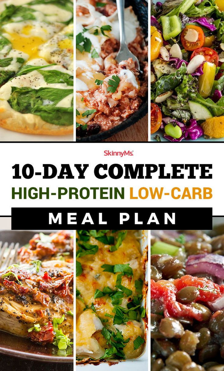 Healthy Low Carb High Protein Recipes  The 25 best High protein meal plan ideas on Pinterest