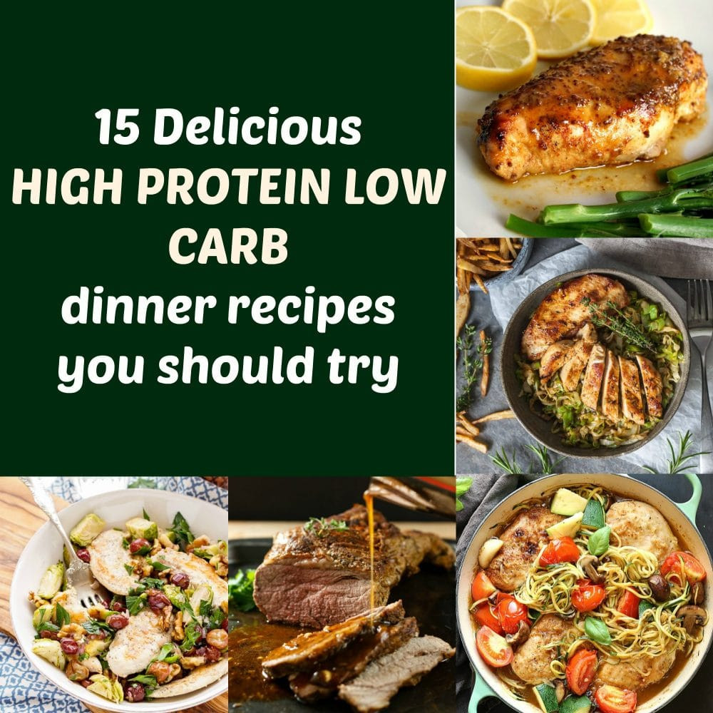 Healthy Low Carb High Protein Recipes  15 Delicious High Protein Low Carb Dinner Recipes You