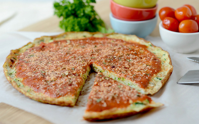 Healthy Low Carb High Protein Recipes  Low Carb High Protein Breakfast Pizza Eggs Recipe