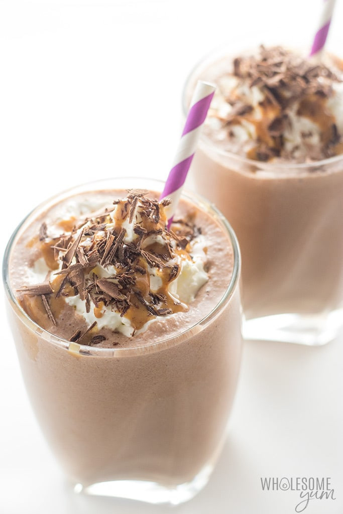 Healthy Low Carb Smoothies  Healthy Chocolate Peanut Butter Low Carb Smoothie Recipe