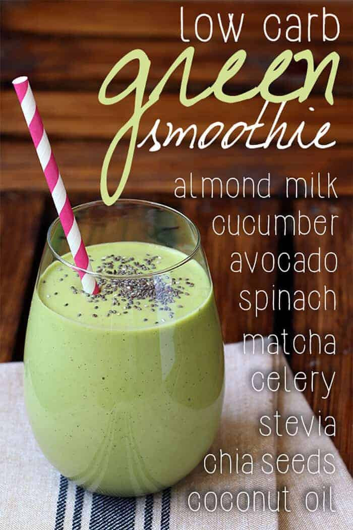 Healthy Low Carb Smoothies  50 Best Low Carb Smoothie Recipes for 2018