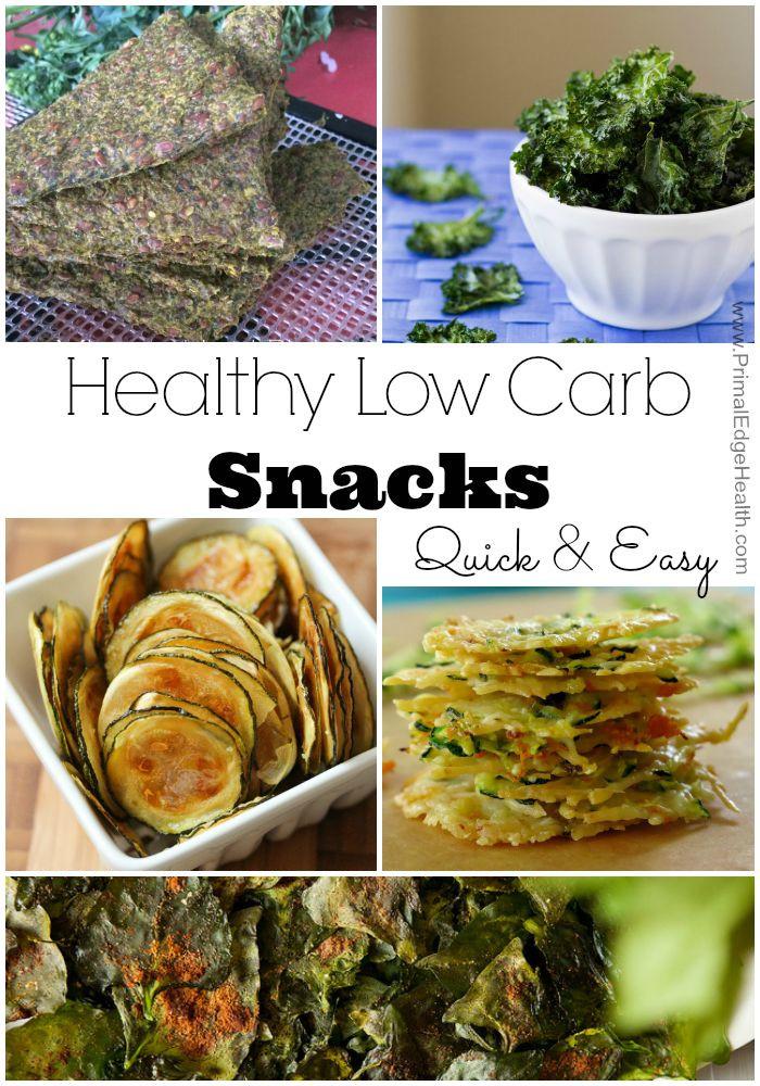 Healthy Low Carb Snacks  Healthy Low Carb Snacks Primal Edge Health