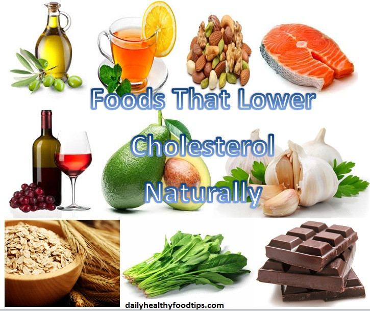 Healthy Low Cholesterol Recipes  8 Foods That Lower Cholesterol Naturally