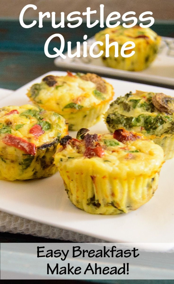 Healthy Low Fat Breakfast  Healthy Easy Crustless Quiche low fat high protein