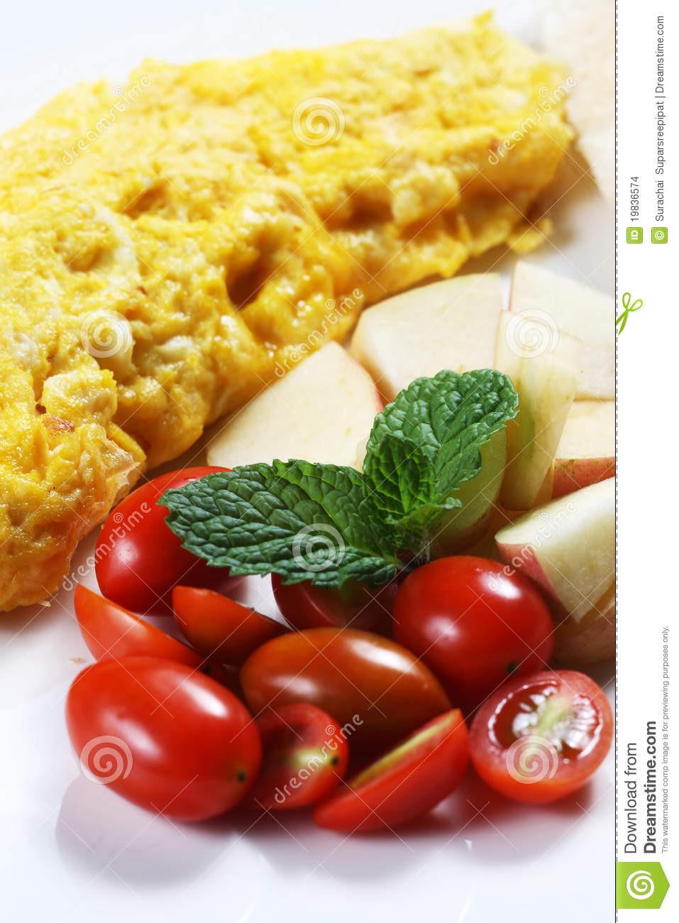 Healthy Low Fat Breakfast  Healthy Low fat Breakfast 01 Stock Image