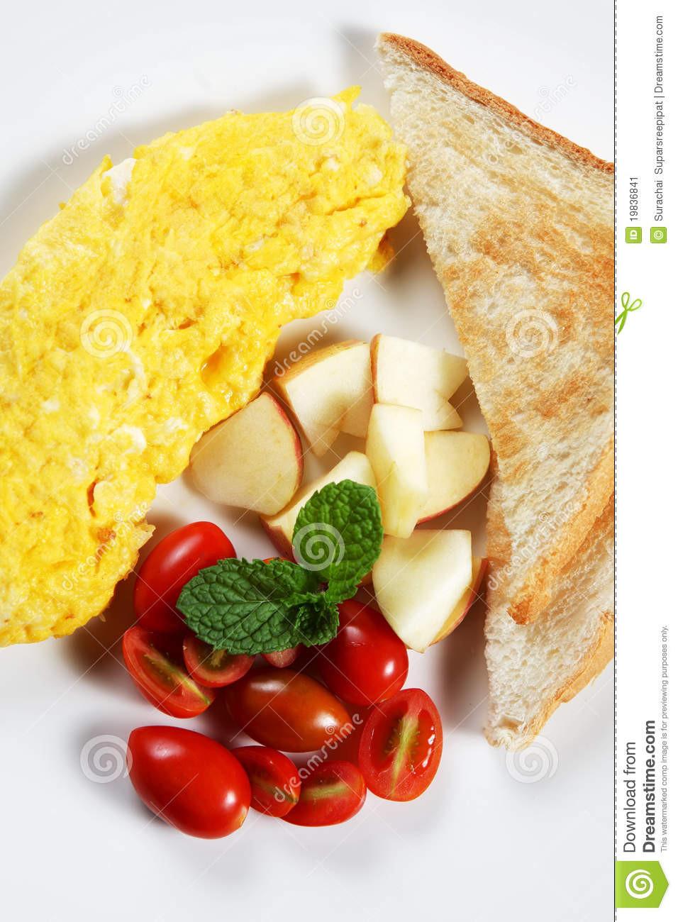 Healthy Low Fat Breakfast  Healthy Low fat Breakfast 03 Stock Image Image