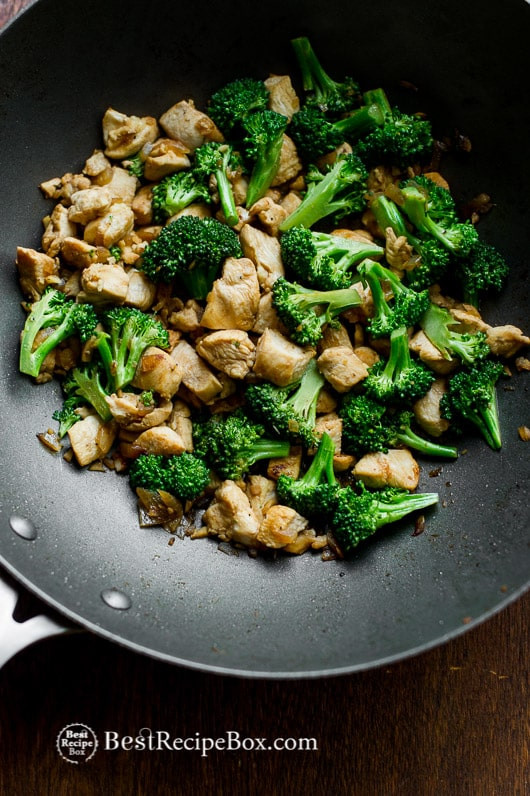 Healthy Low Fat Chicken Recipes  Chicken Broccoli Stir Fry Recipe that s Healthy Easy and