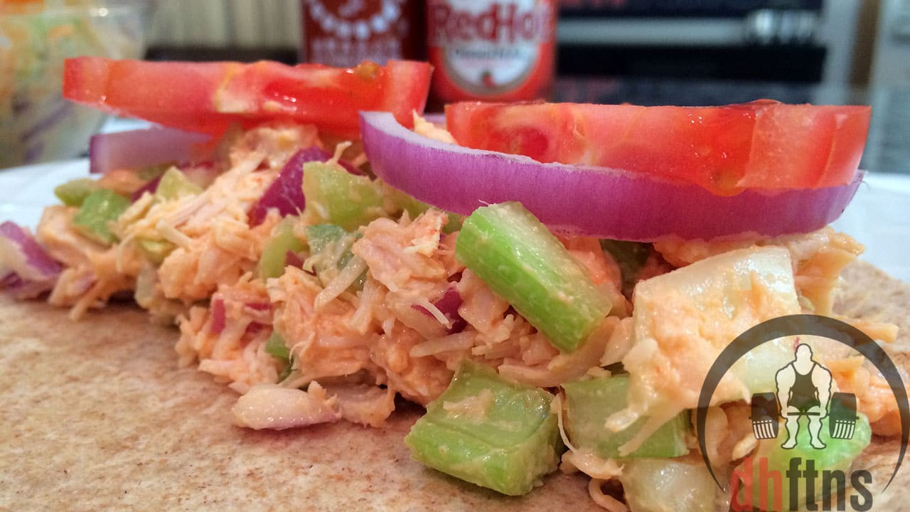 Healthy Low Fat Chicken Recipes  Spicy Canned CHICKEN Salad Recipe Healthy Low Fat