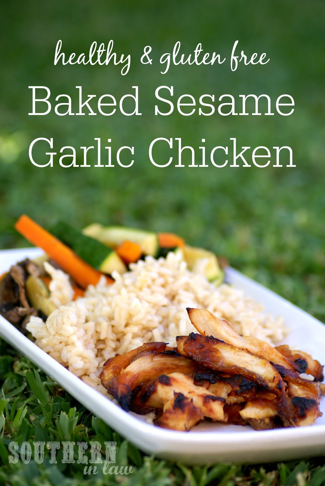 Healthy Low Fat Chicken Recipes  Southern In Law Recipe Healthy Baked Sesame Garlic Chicken