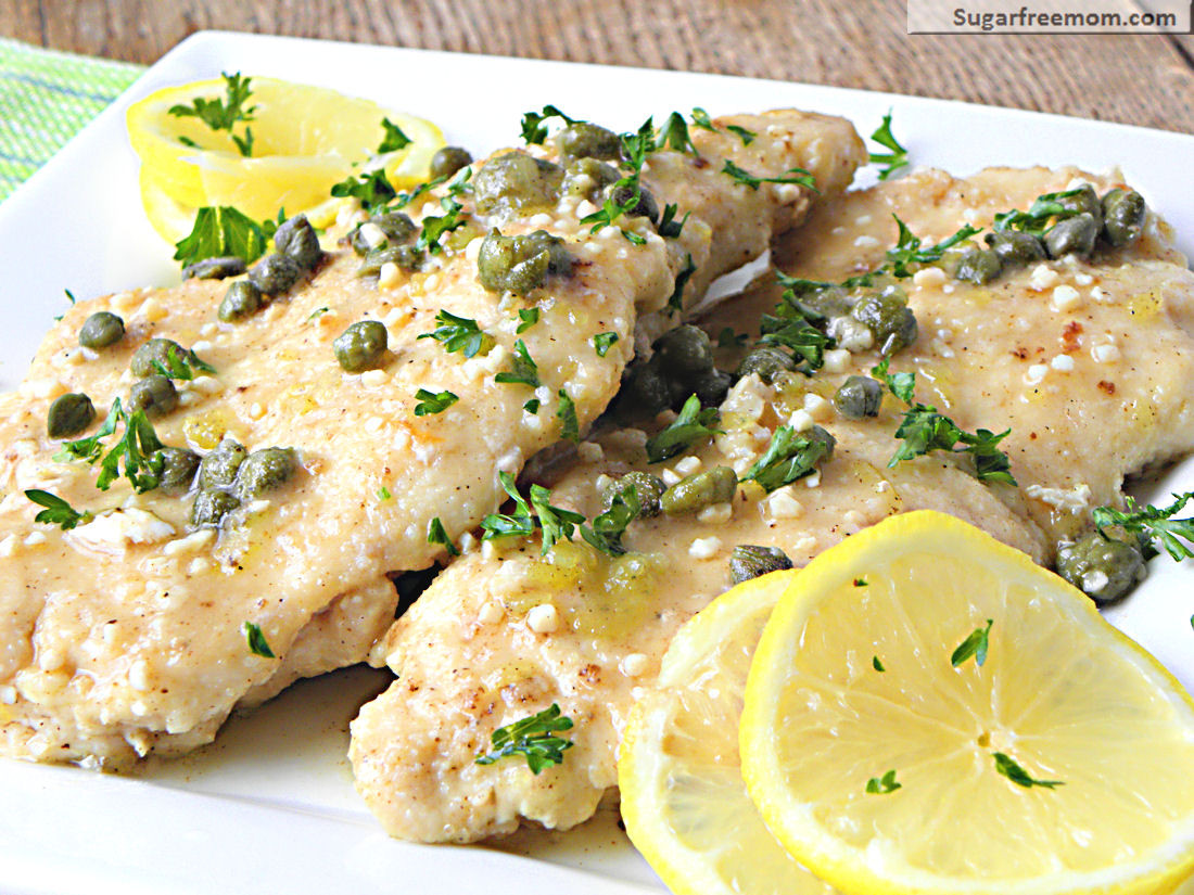 Healthy Low Fat Chicken Recipes  Low Fat Chicken Piccata [Gluten Free]