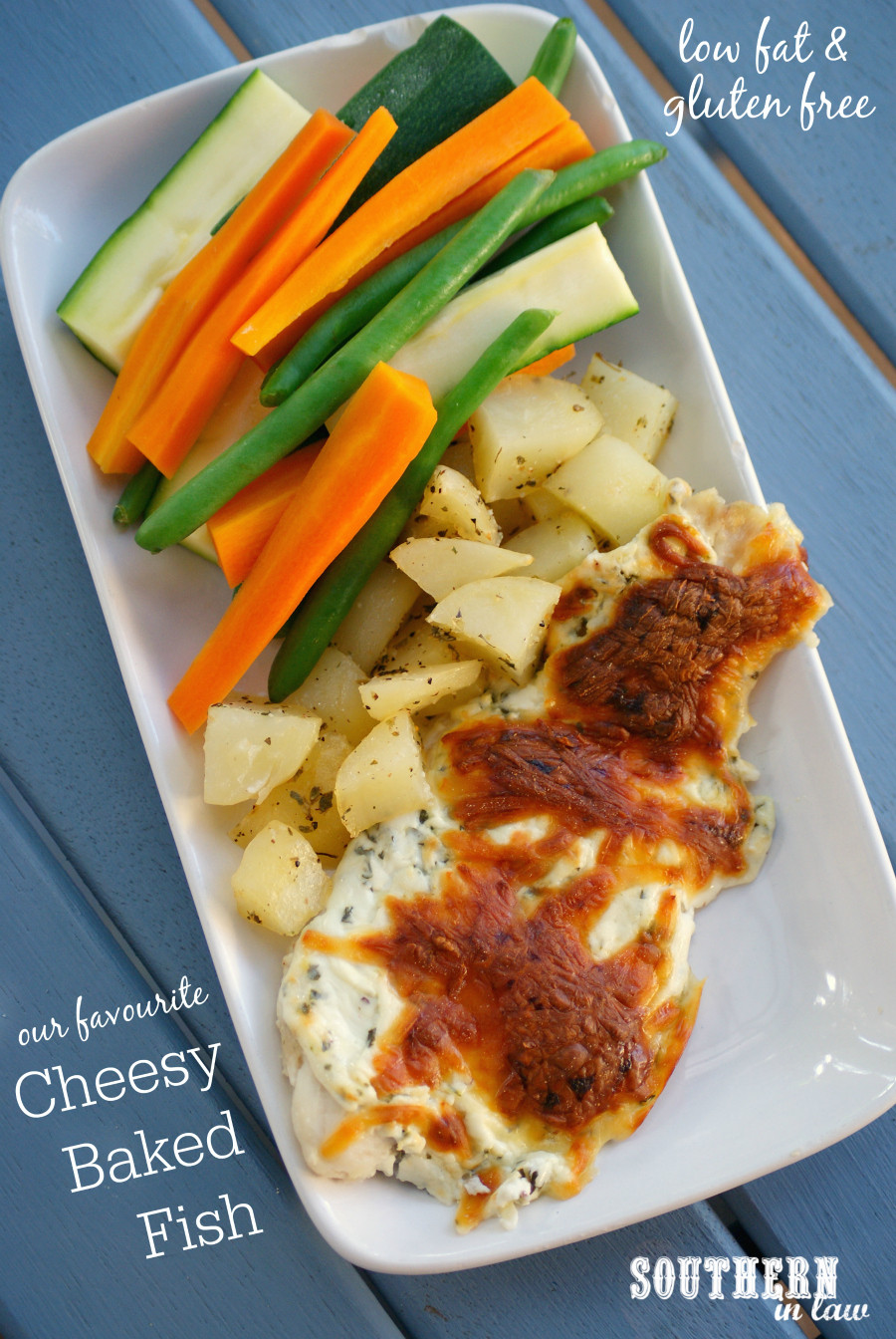 Healthy Low Fat Dinner Recipes  Southern In Law Recipe Our Favourite Cheesy Baked Fish