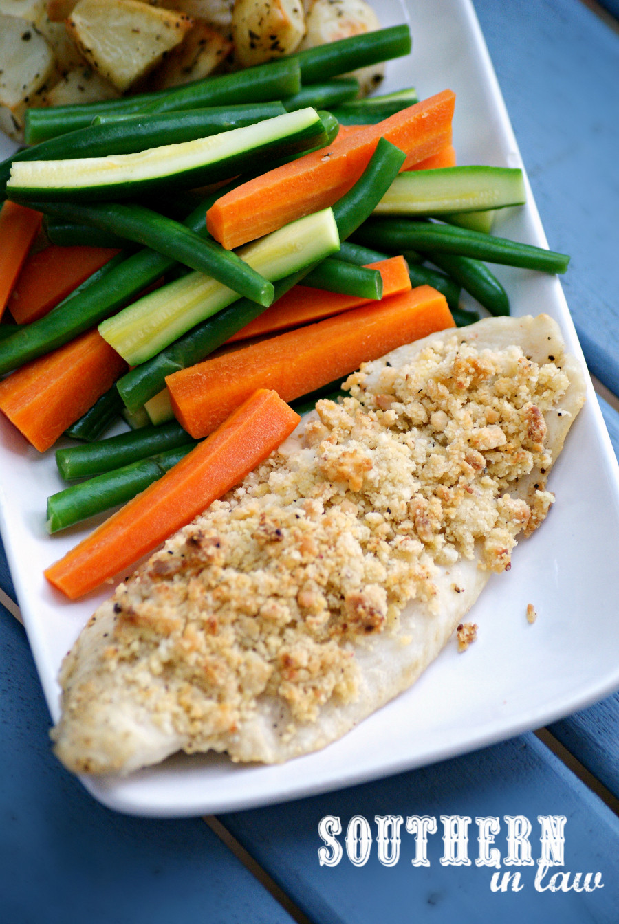 Healthy Low Fat Dinner Recipes  Southern In Law Recipe Healthy Macadamia Crusted Baked Fish