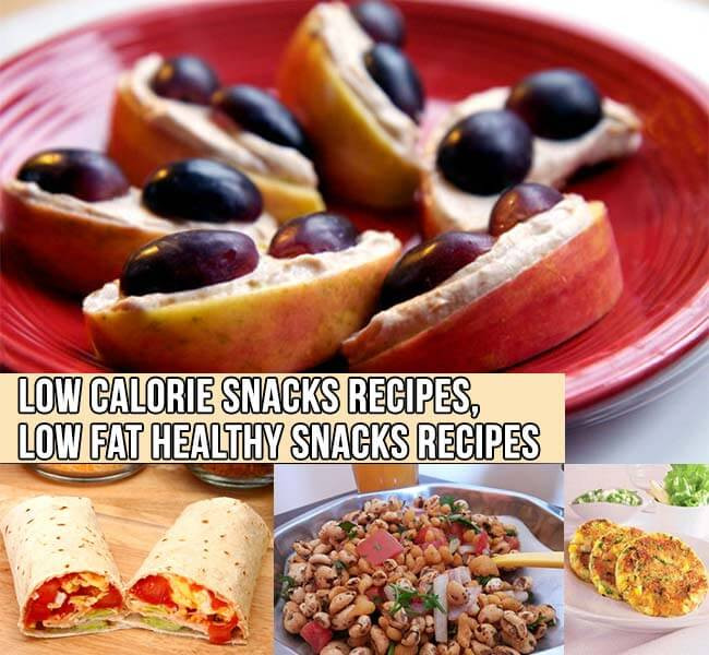 Healthy Low Fat Snacks  Low Calorie Snacks Recipes Low Fat Healthy Snacks Recipes