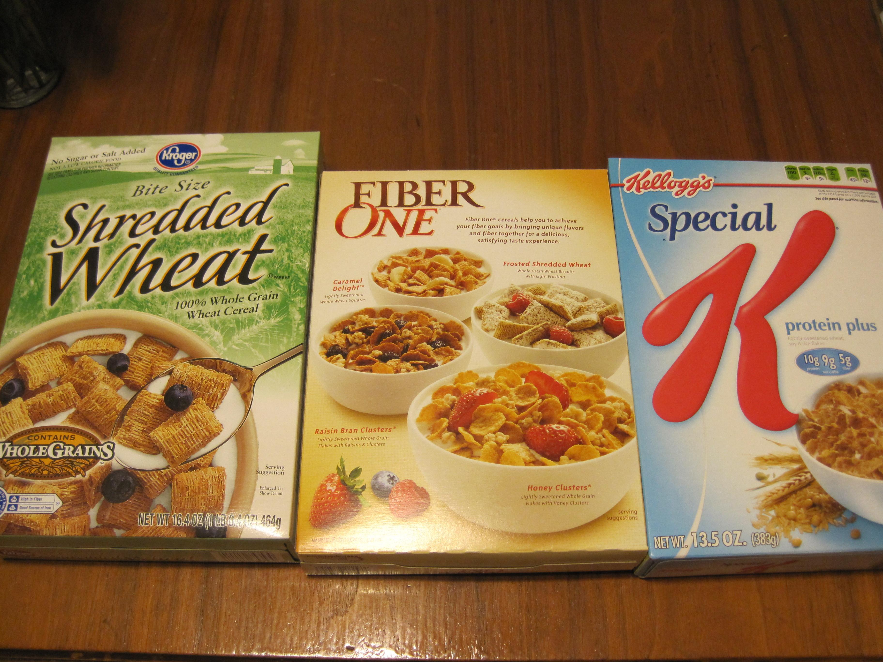 Healthy Low Sugar Breakfast  Three more low sugar breakfast cereals