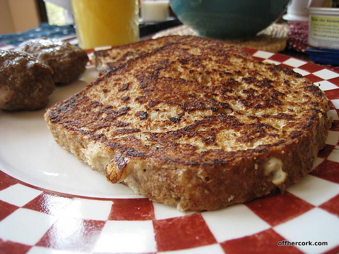 Healthy Low Sugar Breakfast  Frugal Fitness Recipe Ezekiel French Toast
