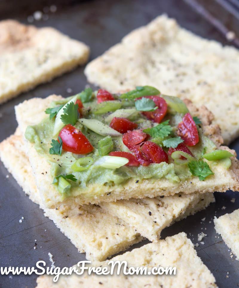 Healthy Low Sugar Breakfast  Low Carb Avocado Toast