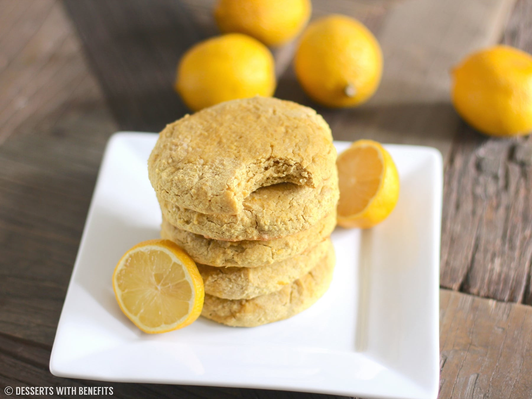Healthy Low Sugar Desserts  Healthy Gluten Free Lemon Sugar Cookies Recipe