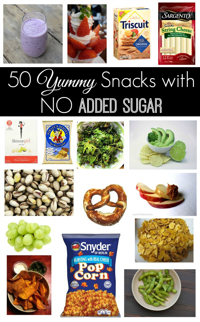 Healthy Low Sugar Snacks  50 Yummy Snacks with NO Added Sugar The Naughty Mommy