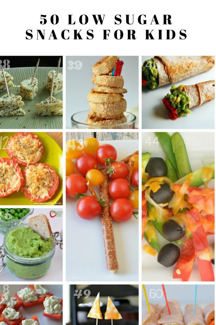 Healthy Low Sugar Snacks  50 Low Sugar Snacks for Kids