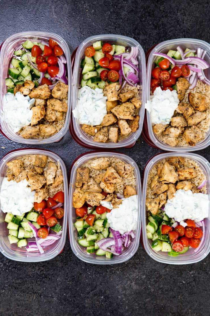 Healthy Lunch And Dinner Ideas  20 Healthy Dinners You Can Meal Prep on Sunday