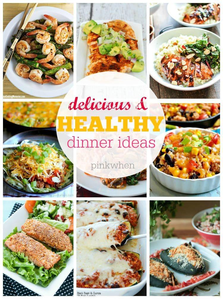 Healthy Lunch And Dinner Ideas  15 Best Healthy Dinner Ideas