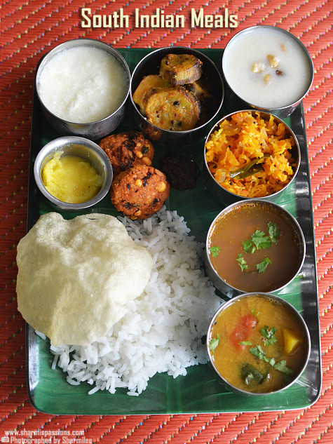 Healthy Lunch Recipes Indian  South indian lunch recipes South indian meals Sharmis