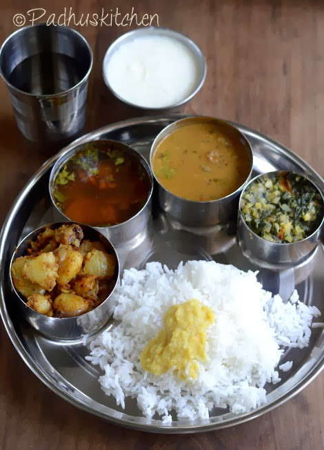 Healthy Lunch Recipes Indian  South Indian Lunch Recipes South Indian Ve arian Lunch