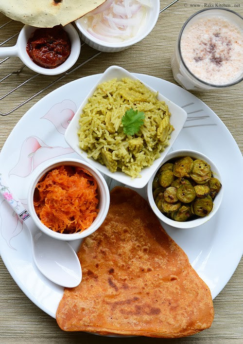 Healthy Lunch Recipes Indian  Lunch menu 20 North Indian lunch ideas