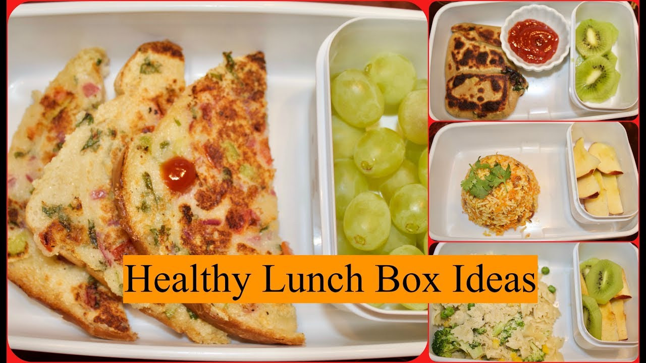 Healthy Lunch Recipes Indian  Indian Lunch Box Recipes Part 4