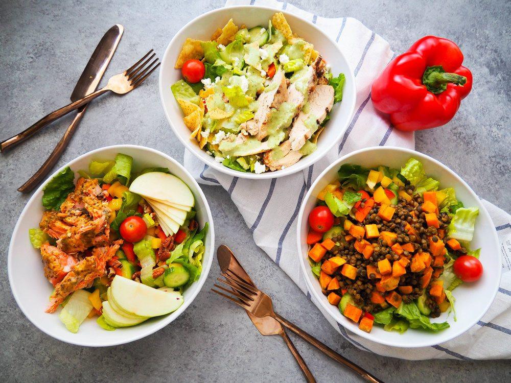 Healthy Lunch Salads  Easy Lunch Salad Three Ways